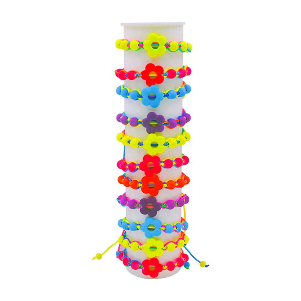 YoKII Fashion new children fluorescent colored Resin handmade bracelet bracelet 6pcs//pack BW1016ER