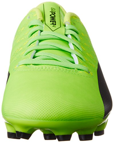 Puma Herren evoPOWER Vigor 4 AG Fußballschuhe Grün (green gecko-puma black-safety yellow 01)