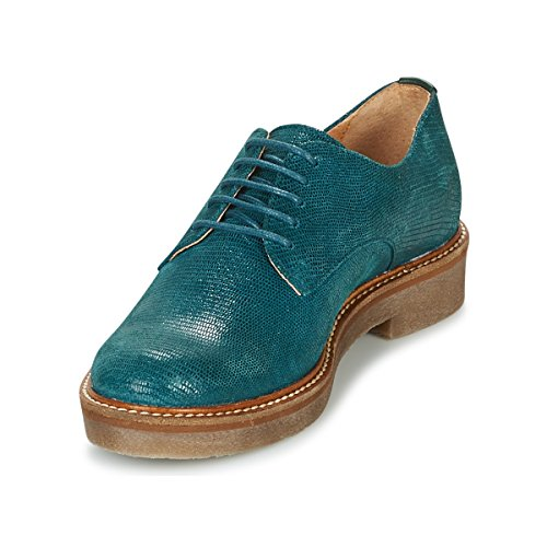 41 Derbies Oxfork Kickers Femme Turquoise TXYwqf