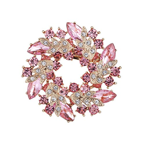 Daisy Jewelry Vintage Bridal Wedding Bouquet Flower Floral Wreath Brooch Pins for Women