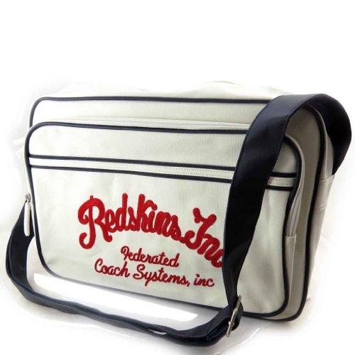 Borsa a tracolla 'Redskins' vintage (a4).