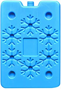 GreatTry Reusable bento Box Ultra-Thin ice Pack Cooling ice Plate Continuous Cooling Summer Must Keep Fresh and Put Food Spoiled (Blue)
