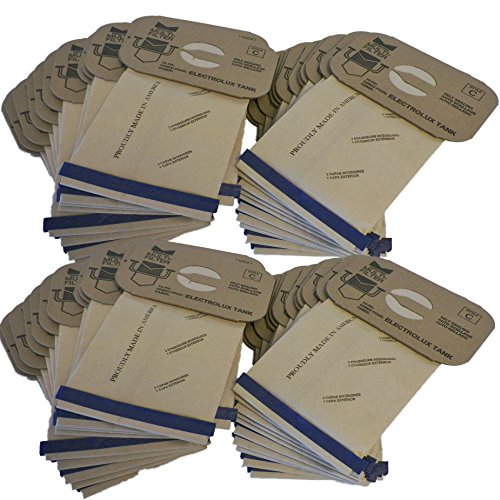 (48 Electrolux Tank Type C Canister Vacuum Cleaner Bags 4 Ply Made in USA)