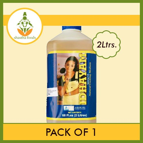 Idhayam Sesame Oil 2 ltrs (Pack of 1)