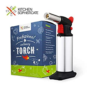 Professional Culinary Torch (Butane) Kitchen Cooking Tool