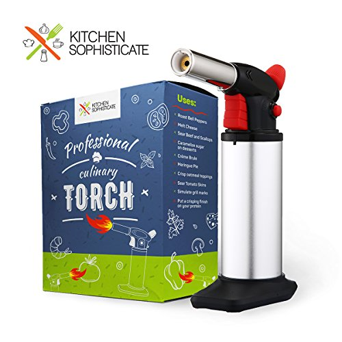 Professional Culinary Torch Butane