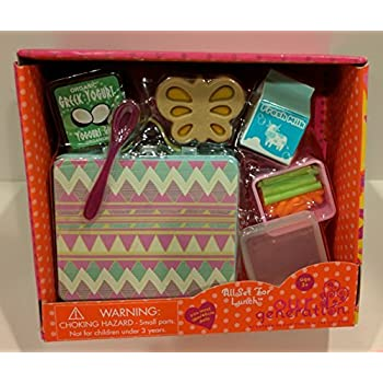 Amazoncom Our Generation All Set For Lunch 18 Doll Accessories