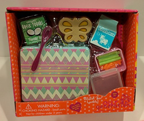 Our Generation All Set For Lunch 18 Doll Accessories School Lunchbox Food Buy Online In Uae Toy Products In The Uae See Prices Reviews And