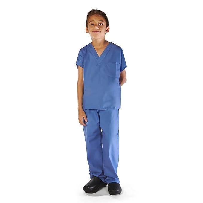 Natural Uniforms niño Touch friegan el sistema-Soft 14/12/2019 Ceil azul: Amazon.es: Ropa y accesorios