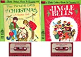 download ebook walt disney storyteller / little golden - book & tape - the twelve days of christmas & jingle bells - books & tape (2 books on 1 cassette - 1978) pdf epub