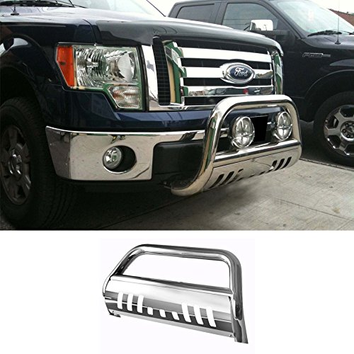 Mifeier Front Brush Push Grille Guard Bull Bar For 04-14 Ford F150 /07-14 Expedition/Navigator