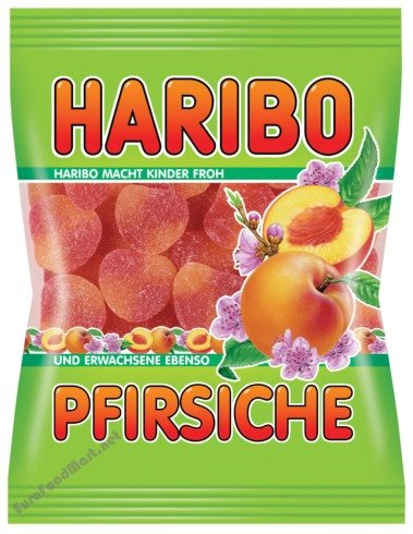 Haribo Peaches Gummi Candy (200 g)