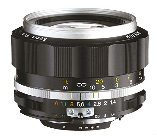 Voigtlander Nokton 58mm f/1.4 SL II S Ai-S - Voigtlander Nikon Lens
