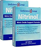 Nitrinol, Natural Nitric Oxide Booster with Beetroot Extract, 60 Tablets per box, 2 Box Deal