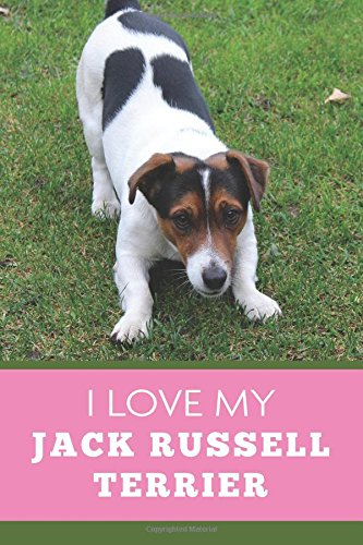 I Love My Jack Russell Terrier (6x9 Journal): Dog Pink Green, Lightly Lined, 120 Pages, Perfect for Notes, Journaling, Mother's Day and Christmas pdf