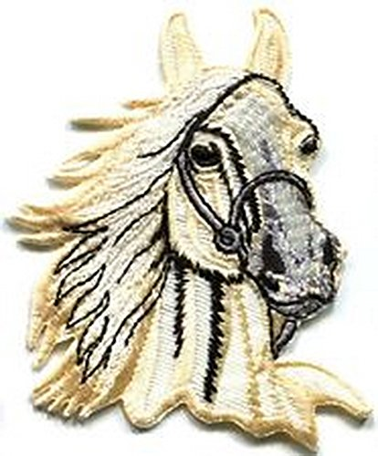 Pony Spinner - Spinner Patches Horse colt bronco filly mustang pony stallion steed applique iron-on patch IG #392 Idea Bag Cloth Tee Shirt
