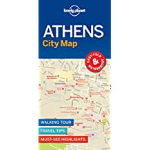 Lonely Planet Athens City Map 1st Ed.