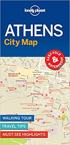 ba58c49cd2aae Lonely Planet Athens City Map: Lonely Planet: 9781787014503: Amazon ...