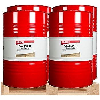 15w40 Diesel Oil >> Amazon.com: SAE 40 Wt. Diesel Engine Oil - 55 Gallon Drum: Automotive