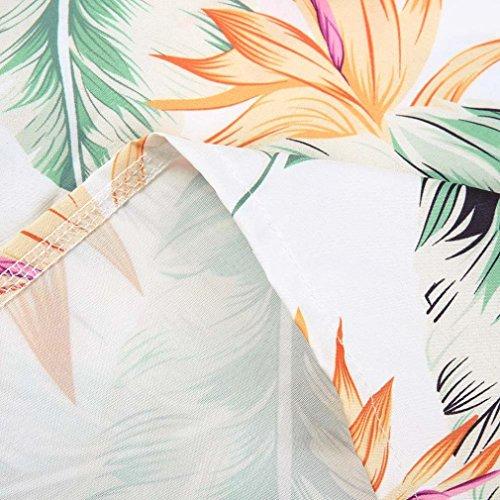 Robe 02 Robe soire Robes Courte Robe Robe d't Braderie EUZeo Plage dnudes Mini Robe de paules Blanc Mode Dames Dress Femme de de Sexy pgcAwq0