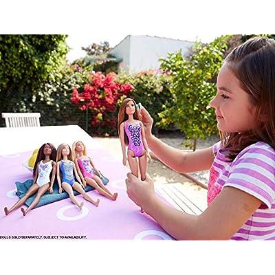 Barbie Beach Doll - Cheetah Print: Toys & Games