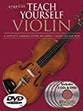 Step One: Teach Yourself Violin Course: A Complete Learning System Book/3 CDs/DVD Pack