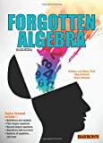 Forgotten Algebra, Barbara Lee Bleau and Glenn Clemens, 1438001509