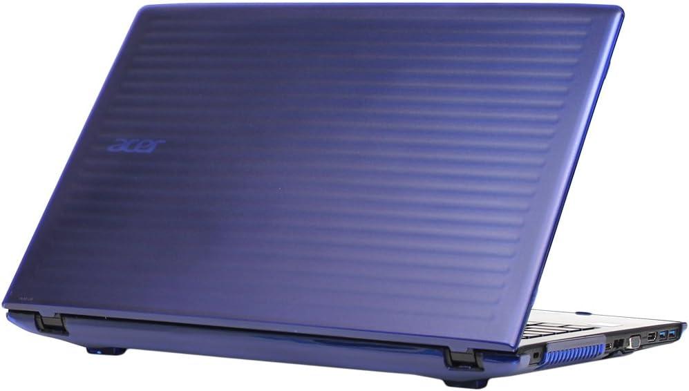 "mCover Hard Shell Case for 15.6"" Acer Aspire E 15 E5-575 / E5-576 Series Windows Laptop (Blue)"