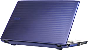 "mCover Hard Shell Case for 15.6"" Acer Aspire E 15 E5-575 / E5-576 Series Windows Laptop (Blue)"