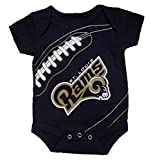 Outerstuff St. Louis Rams Fanatic Bodysuit Onesie Creeper 12 Months
