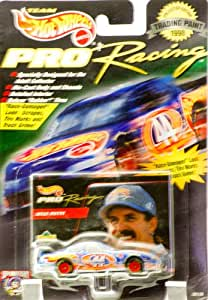 1998 - Mattel - Team Hot Wheels - Pro Racing - Trading Paint Series - Kyle Petty - #44 Hot Wheels - Pontiac Grand Prix - Upper Deck Card - New - Out of Production - Collectible
