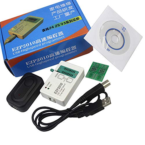 EZP2010 High-Speed USB SPI Programmer Tool Support 24/25/93 EEPROM 25 Flash  BIOS Chip USB Eprom Programming