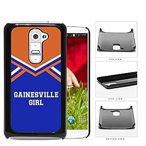 Gainesville City Girl School Spirit Cheerleading Uniform LG G2 Hard Snap on Plastic Cell Phone Cover