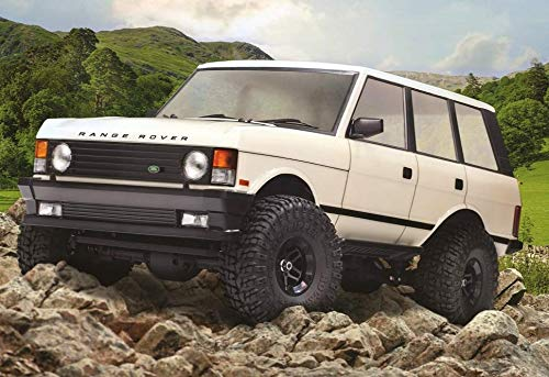 Carisma Scale Adventure SCA-1E 1981 Land Rover Range Rover RTR ( Wheel Base 324Mm), Official Licensed