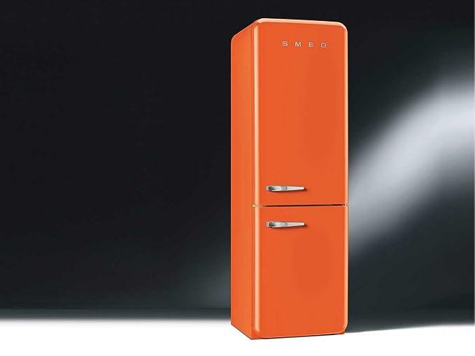 Smeg Kühlschrank Fab 32 : Smeg kühl gefrierkombination fab ron orange rechtsanschlag a