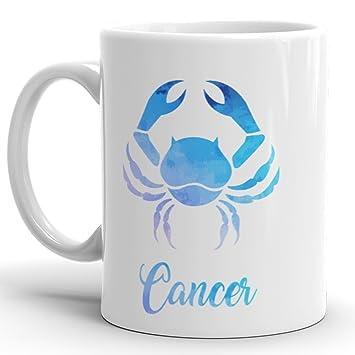 Amazon com: Cancer Mug - Zodiac Sign Novelty Coffee Mug Great