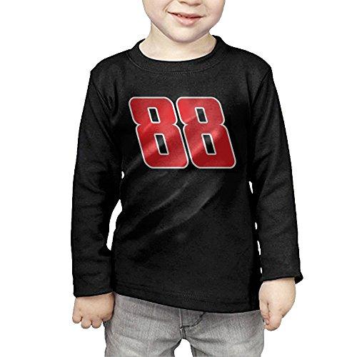 KIHOYG Kid's Dale Jr 88 Long Sleeve - Jr Clothing Dale Toddler