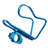 Bike bicycle cycling drink water bottle holder rack cage stands alloy ( Black )