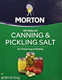 Morton Canning an Pickling Salt 4 pound box (2 pack)