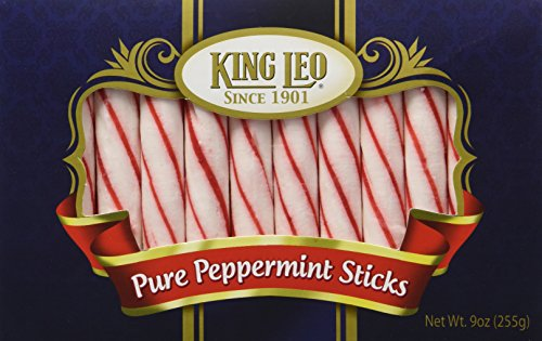(King Leo Soft Pure Peppermint Sticks 9oz)