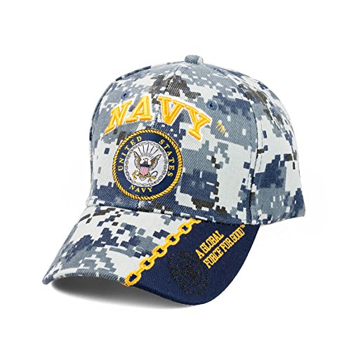 KYS Design Navy - A Global Force for Good - Digital Camo Cap ()