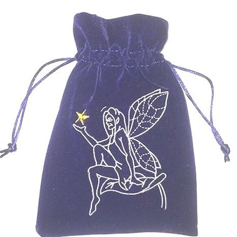 Diseño de hada con bordado Star Tarot bolsa o cama de ...