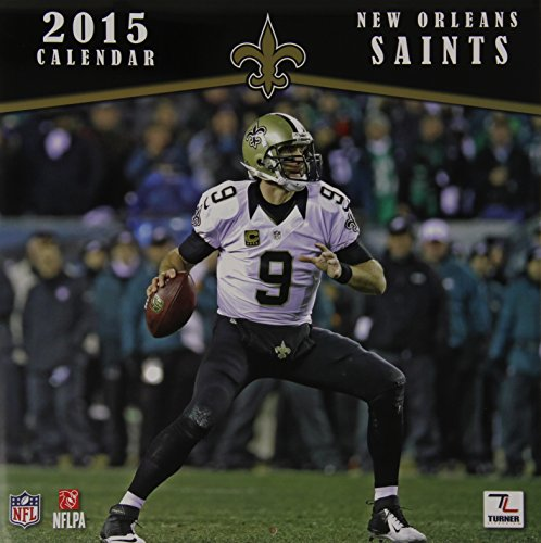 New Orleans Saints 2015 Calendar - New Orleans Saints Calendar