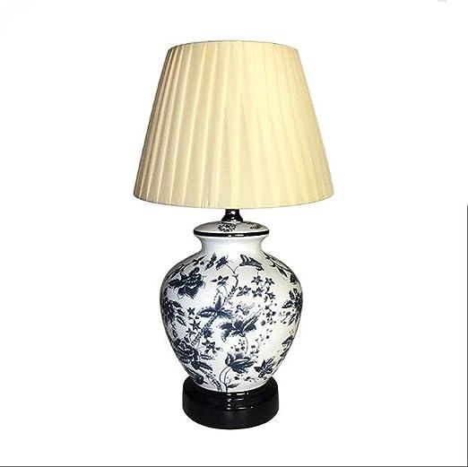 NANYUN Mini Dormitorio lámpara de Mesa de cerámica, decoración de ...