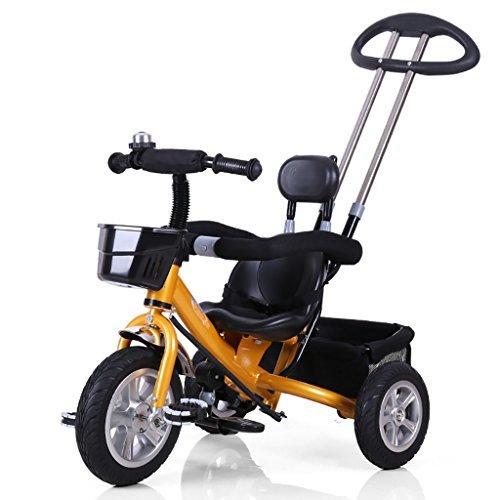 QWM-Baby bicyclettes enfants Hommes et femmes Bébé 1 --- Pédale à trois roues à trois roues / jouet pour enfants Cadeau pour enfants ( Couleur : D )