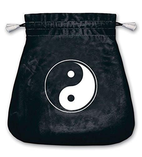 - Lo Scarabeo Yin And Yang Velvet Tarot Bag