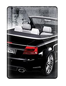 For ExscJip534UyXmz Rs4 Cabriolet Rs Black Convertible Back Angle Cars Audi Protective Case Cover Skin/ipad Air Case Cover