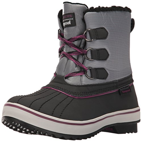 Polar Purple Black Snow Bear Skechers Highlanders Boot Waterproof Grey Women's BqEUp