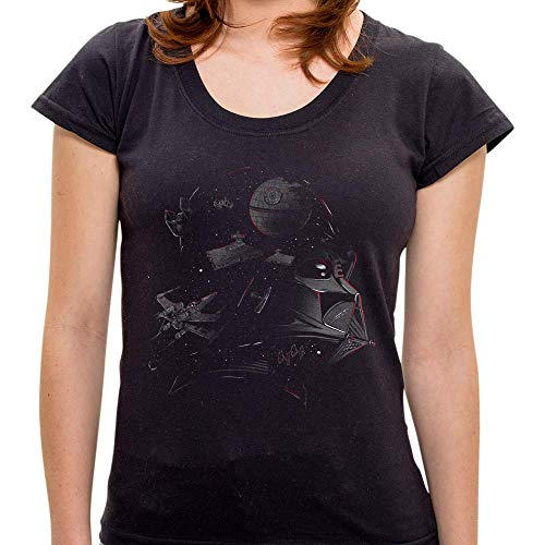 Camiseta Darth Vader Conceitual - Feminina - G
