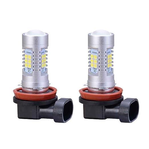 9 opinioni per H11 21SMD ha condotto la lampada per la lampadina luce di nebbia dell'automobile
